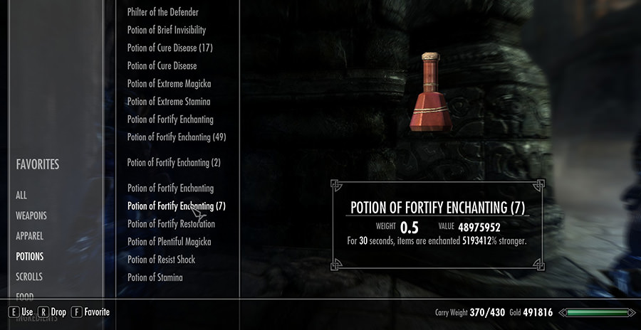 Skyrim Crafting