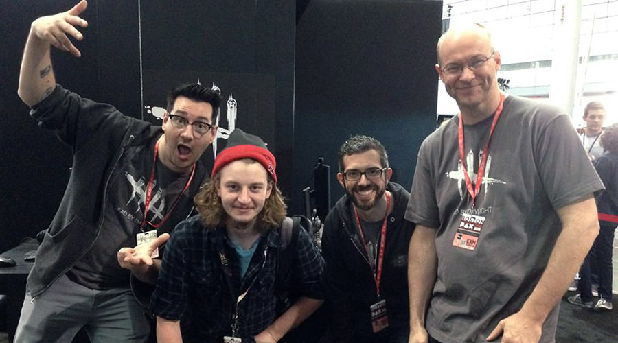 Dead by Daylight team at PAXEAST