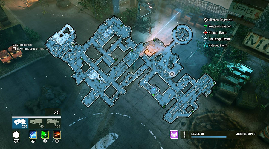 alienation level map